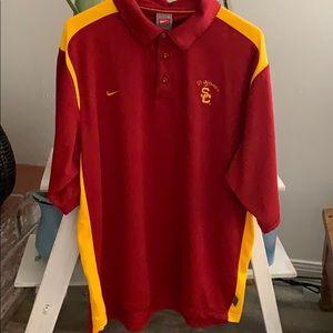 Authentic Nike USC polo Like new
